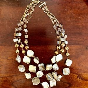 Jewelry - Gorgeous Mother- of Pearl Necklace